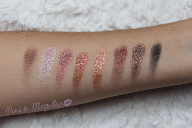 Flawless 4ª fila swatches