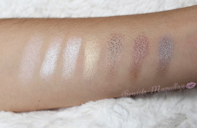 Flawless swatches 1ª fila