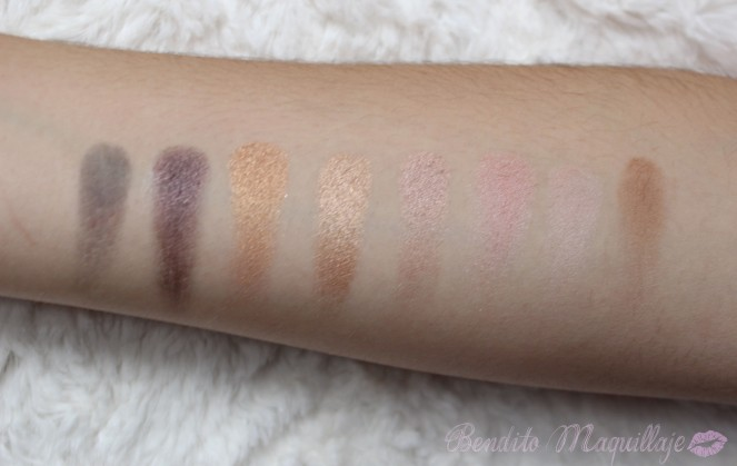 Flawless swatches 2ªfila