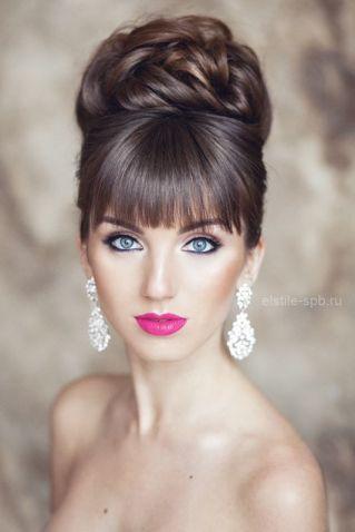 maquillaje-con-labios-rosas