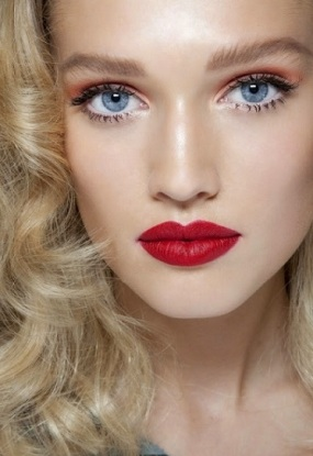 Maquillaje-novias-labios-rojos-2015-1
