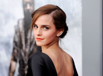 "Actress Emma Watson arrives at the film premiere of ""Noah,"" in New York, America. Emma Watson, most known for her role as Hermione Granger in the ""Harry Potter"" franchise, is graduating from Brown University, an Ivy League school in Providence, R.I., on May 25. (Photo by Evan Agostini/Invision/AP, FIle)"